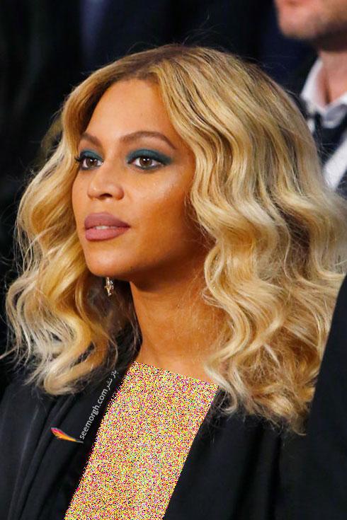 رنگ موی بلوند برای زمستان 2015 به سبک بیانسه Beyonce