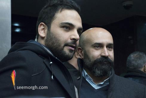 """احسان علیخانی و علی جلیلوند در اکران خصوصی """"چهارشنبه 19 اردیبهشت"""""""