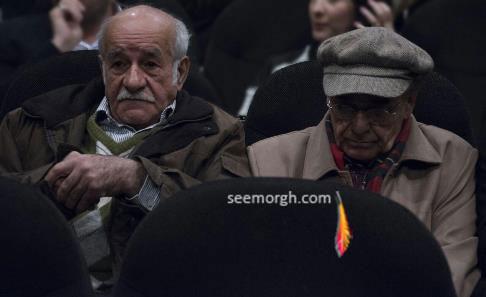 """رضا بابک در اکران خصوصی """"چهارشنبه 19 اردیبهشت"""""""