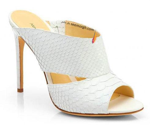 کفش عروس طرح دار به پیشنهاد مارتا استورات marthastewart برای پاییز 2015