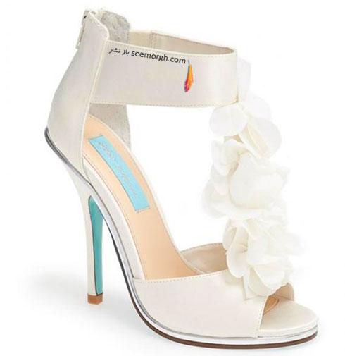 کفش عروس گلدار برای پاییز 2015 به پیشنهاد مارتا استورات marthastewart