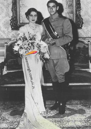 لباس عروس فوزیه