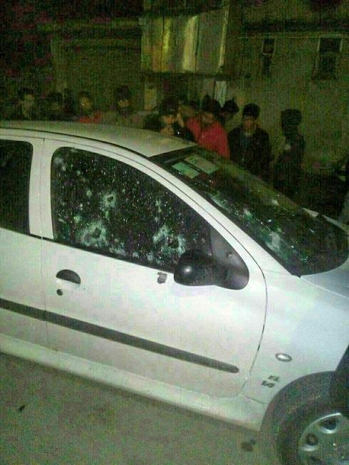 عکس شلیک گلوله به کشتی گیر ملی پوش ایران
