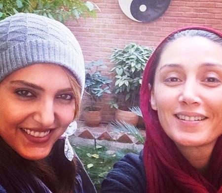 عکس سلفی هدیه تهرانی