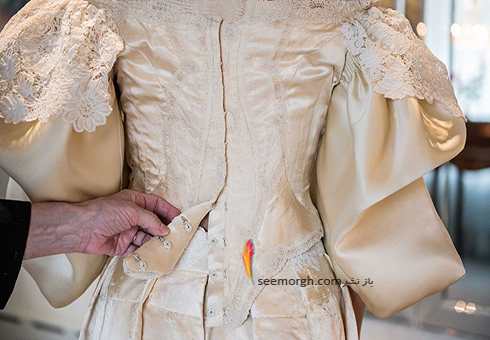 لباس عروس 120 ساله