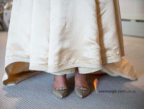 عکس کفش های عروس