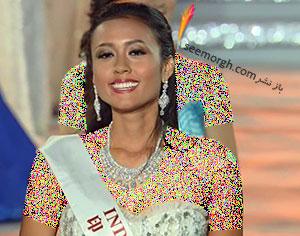 دختر شایسته اندونزی برنده زیبایی هدفمند برنامه Miss World 2015