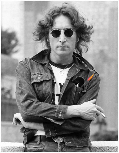 مدل عینک جان لنون John Lennon