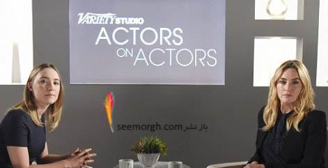 کیت وینسلت در برنامه تلویزیونی