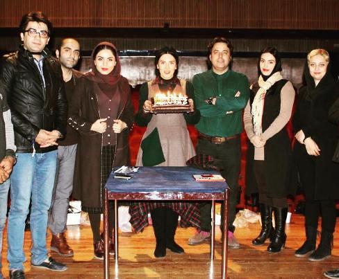 جشن تولد لیلا بلوکات با حضور فرزاد حسنی و آزاده زارعی