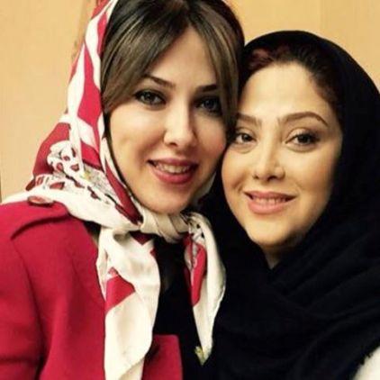عکس لیلا اوتادی و مریم سلطانی در سالن زیبایی