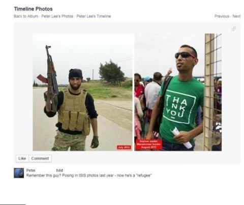 داعشیها در میان مهاجران
