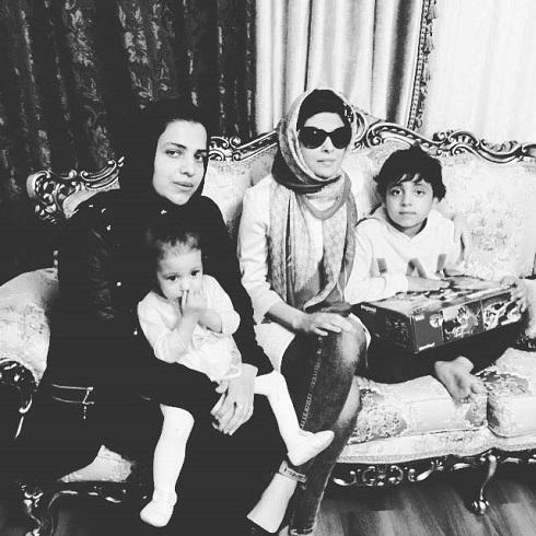 مریم حیدرزاده در جشن تولد پسر هادی نوروزی