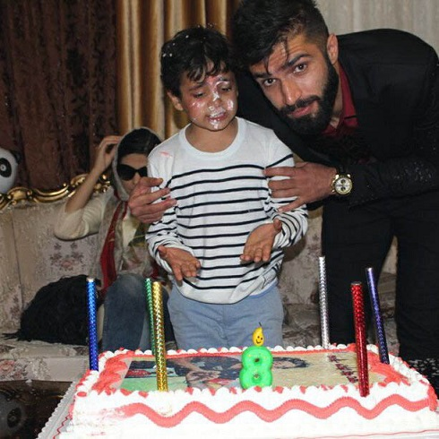 جشن تولد پسر هادی نوروزی