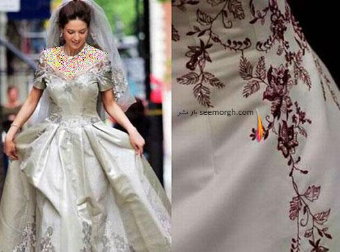 لباس عروس مائورو آدامی Mauro Adami به قیمت 380 هزار دلار و طراحی شده خودش در سال 2008