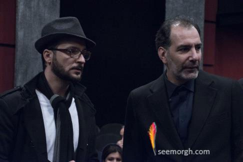 """بهنام تشکر و محمد سلوکی در اکران خصوصی """"چهارشنبه 19 اردیبهشت"""""""