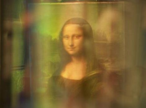 عکس مونالیزا با فناوری بازتان نور