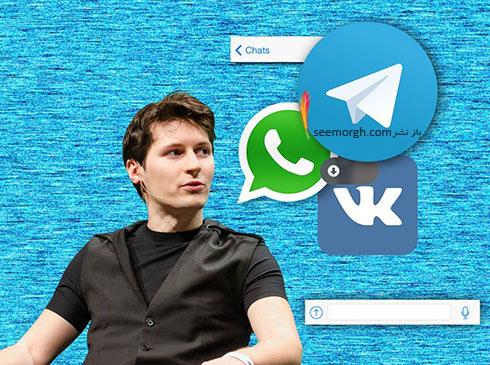 القاب پاول دوروف Pavel Valeryevich Durov