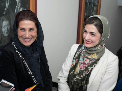 """مریم شیرازی و فاطمه معتمدآریا در اکران خصوصی فیلم سینمایی """"بهمن"""" -2"""