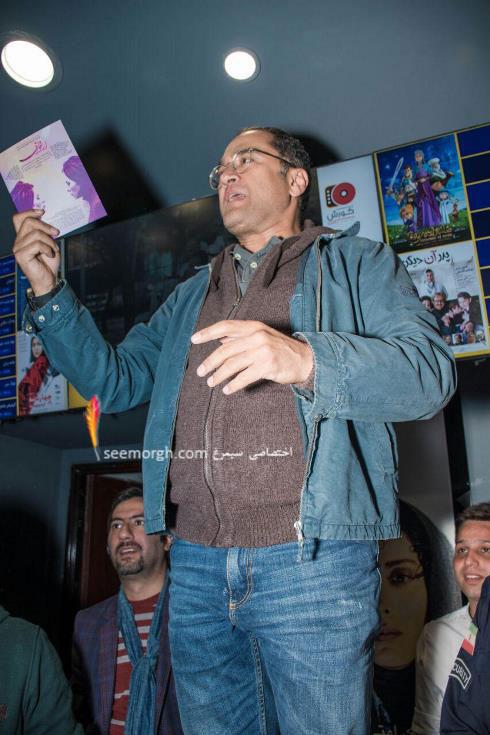 """رامبد جوان در اکران مردمی فیلم """"ارغوان"""" -11"""