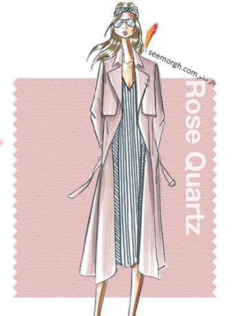 رنگ همان صورتی سنگ کوارتز Rose Quatz برای سال 2016 - عکس شماره 1