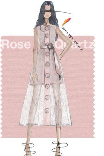 رنگ همان صورتی سنگ کوارتز Rose Quatz برای سال 2016 - عکس شماره 2