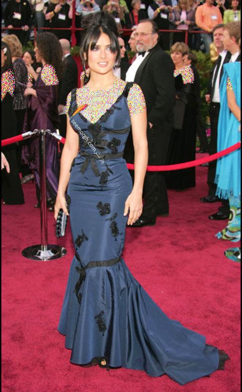 مدل لباس سلما هایک Salma Hayek - سال 2005
