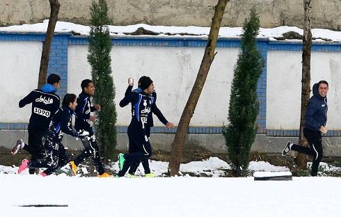 برف بازی استقلالیها(4)