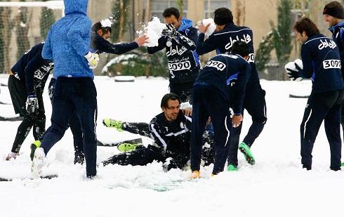 برف بازی استقلالیها(5)