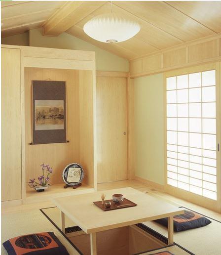 سبک ژاپنی در طراحی دکوراسیون داخلی