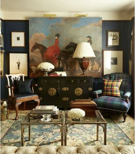 سبک انگلیسی در طراحی داخلی