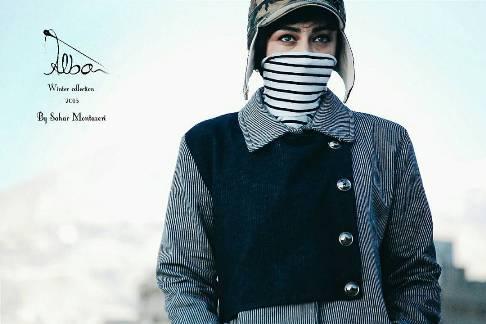 عکس ویدا جوان به عنوان مدل تبلیغاتی
