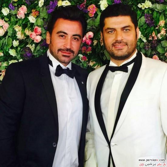 جشن عروسی سام درخشانی