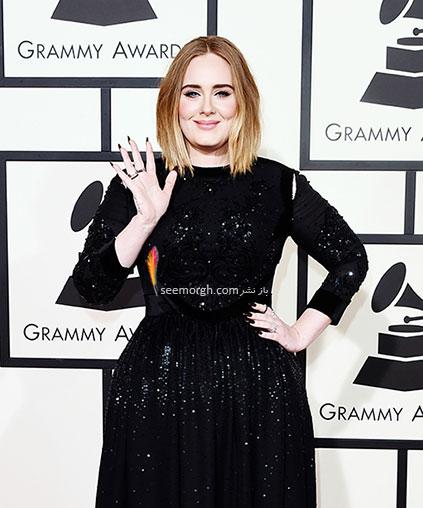 مدل لباس تیلور آدل Adele در جوایز گرمی Grammy 2016