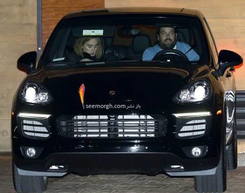 اتومبیل ادل و همسرش