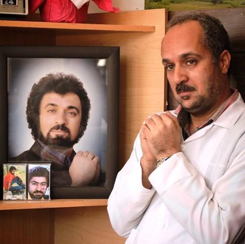 گریم احمد مهرانفر در فیلم زاپاس
