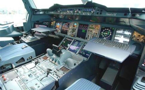 کابین هواپیما ایرباس A380