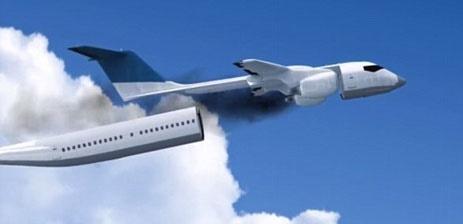 روشی جالب برای نجات مسافران هواپیمای در حال سقوط