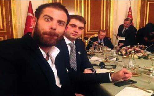 تمسخر اردوغان+ عکس