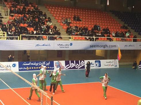 والیبال گاز تهران و ذوب آهن اصفهان