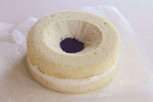 سیزدهمین مرحله درست کردن کیک <a href=