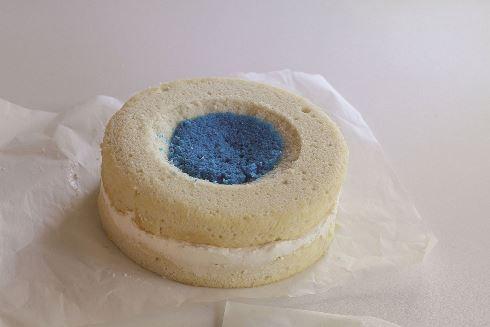 چهاردهمین مرحله درست کردن کیک <a href=