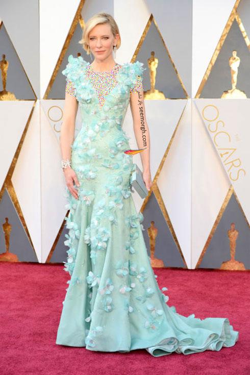 مدل لباس کیت بلانشت Cate Blanchett در اسکار 2016