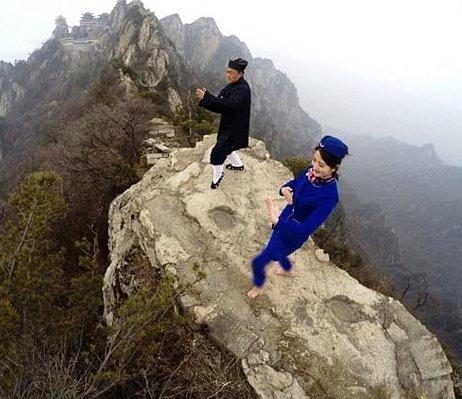 تمرینات مهماندار زن در چین 1