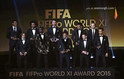 تیم منتخب سال 2015 فوتبال جهان