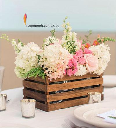 از جعبه های خالی به عنوان یک گلدان زیبا استفاده کنید