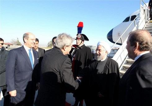استقبال رسمی از روحانی در ایتالیا