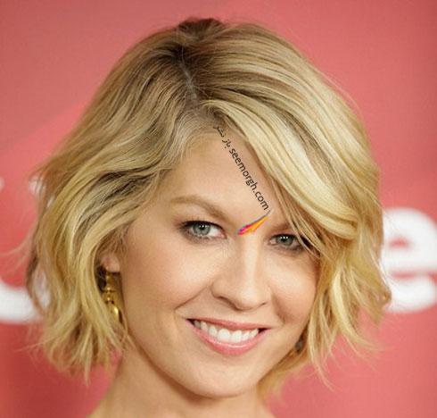 بهترین مدل مو بهاری برای خانم های بالای 40 سال - مدل مو شماره 9
