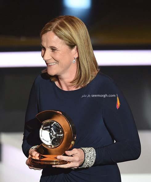 جیل الیس بهترین مربی زن فوتبال جهان