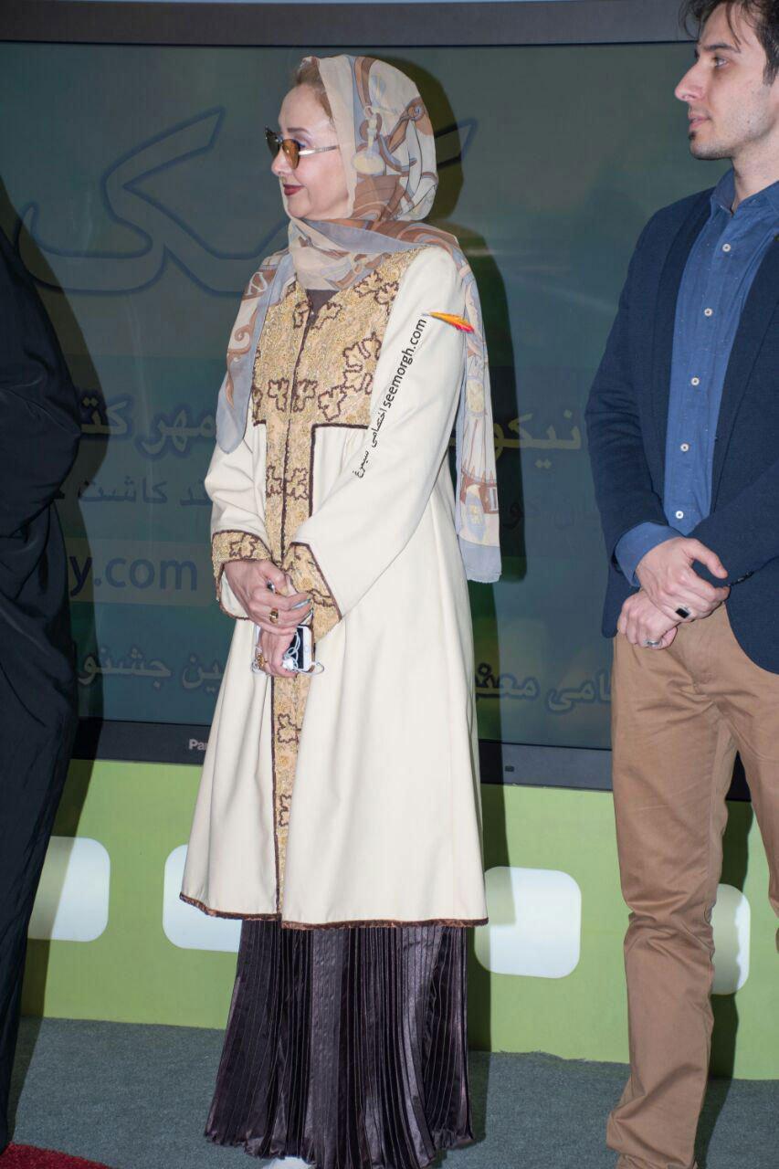 مدل لباس کتایون ریاحی در ششمین روز سی و چهارمین جشنواره فیلم فجر